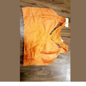 Other - New Casique 14/16 orange bralet